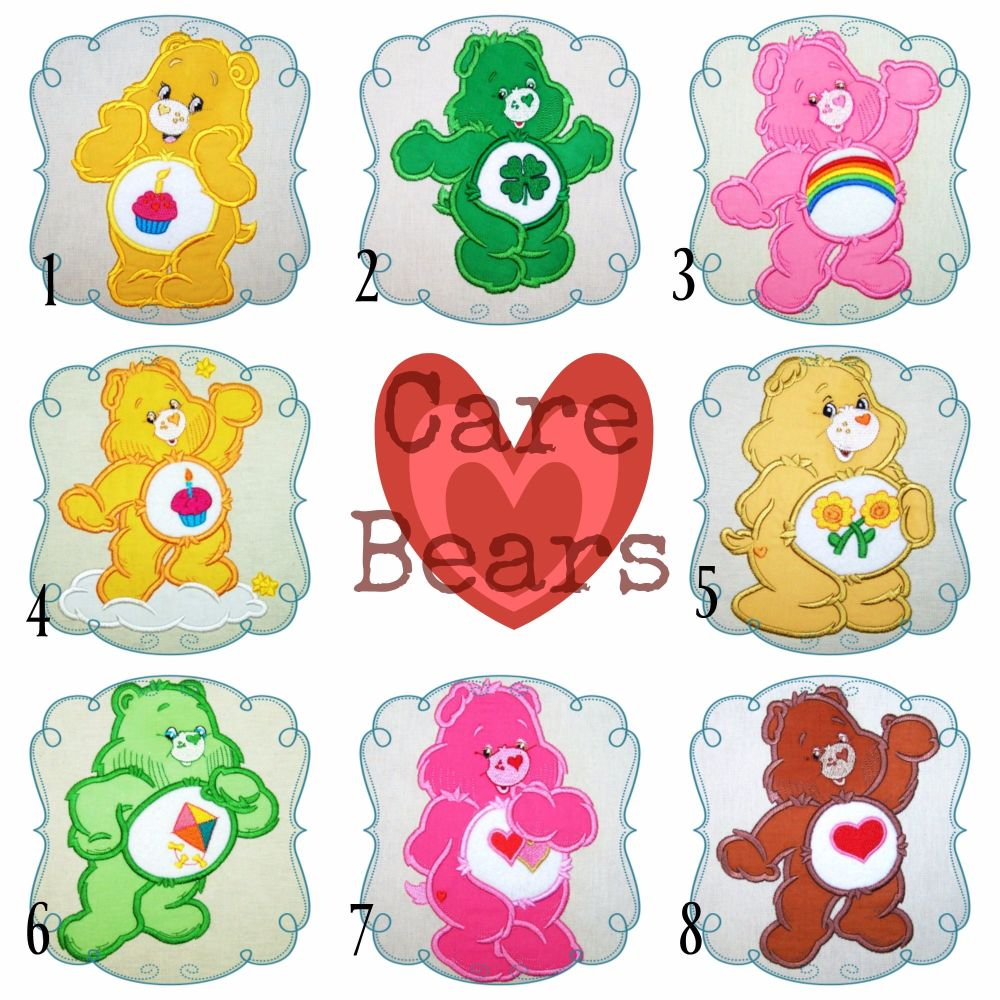 Care bears Collage 1