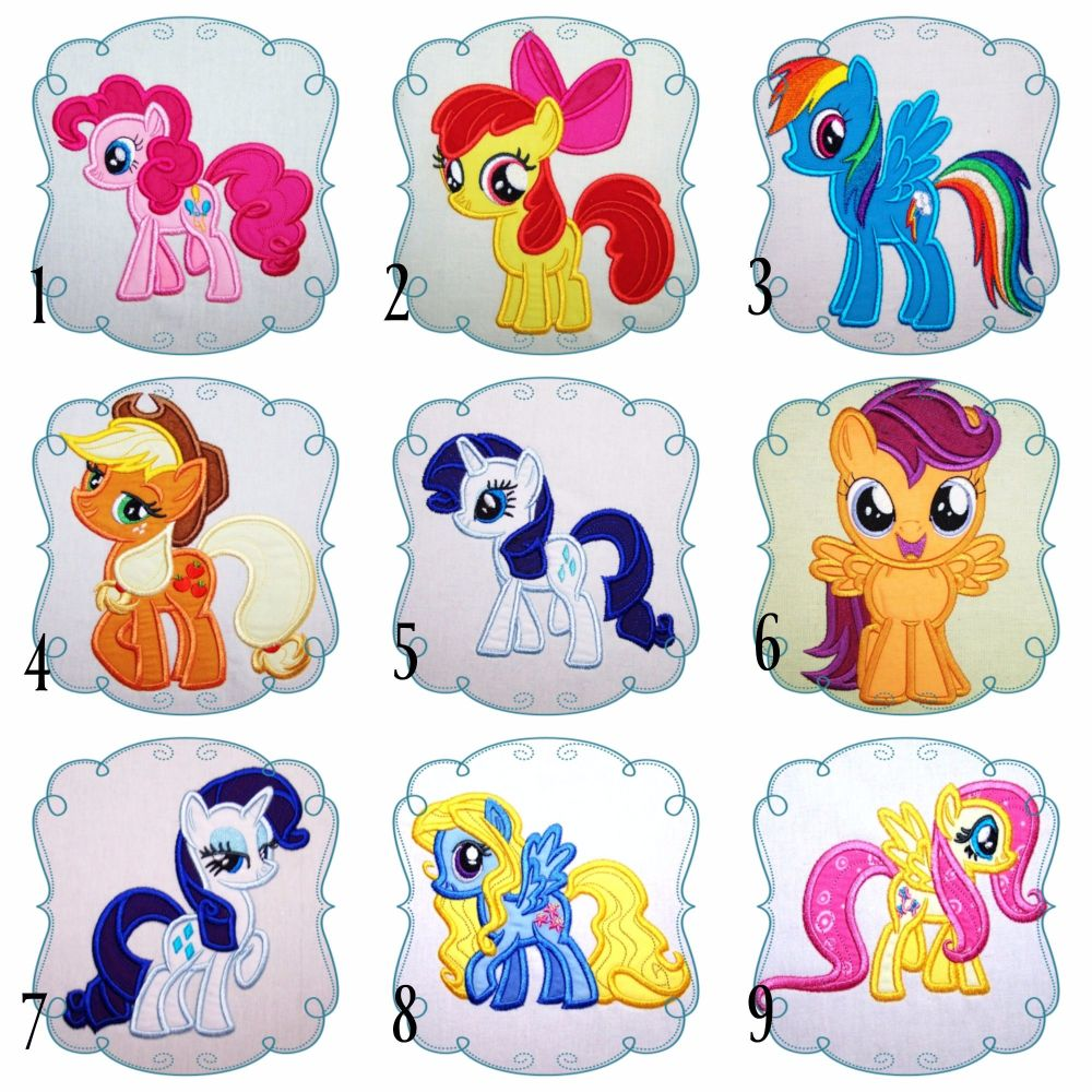 My Little Pony Collage 1