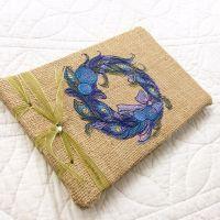 Baby's first Christmas keepsake journal