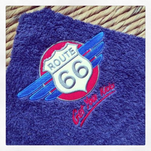 Route 66 T towel hand towel