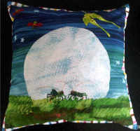 """The very hungry caterpillar and friends cushion cover 18"""""""