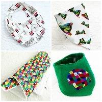 Baby burp cloths Bibs & muslin squares