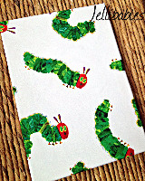 The very hungry caterpillar canvas wall hangings