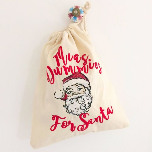 Personalised dummy fairy bags