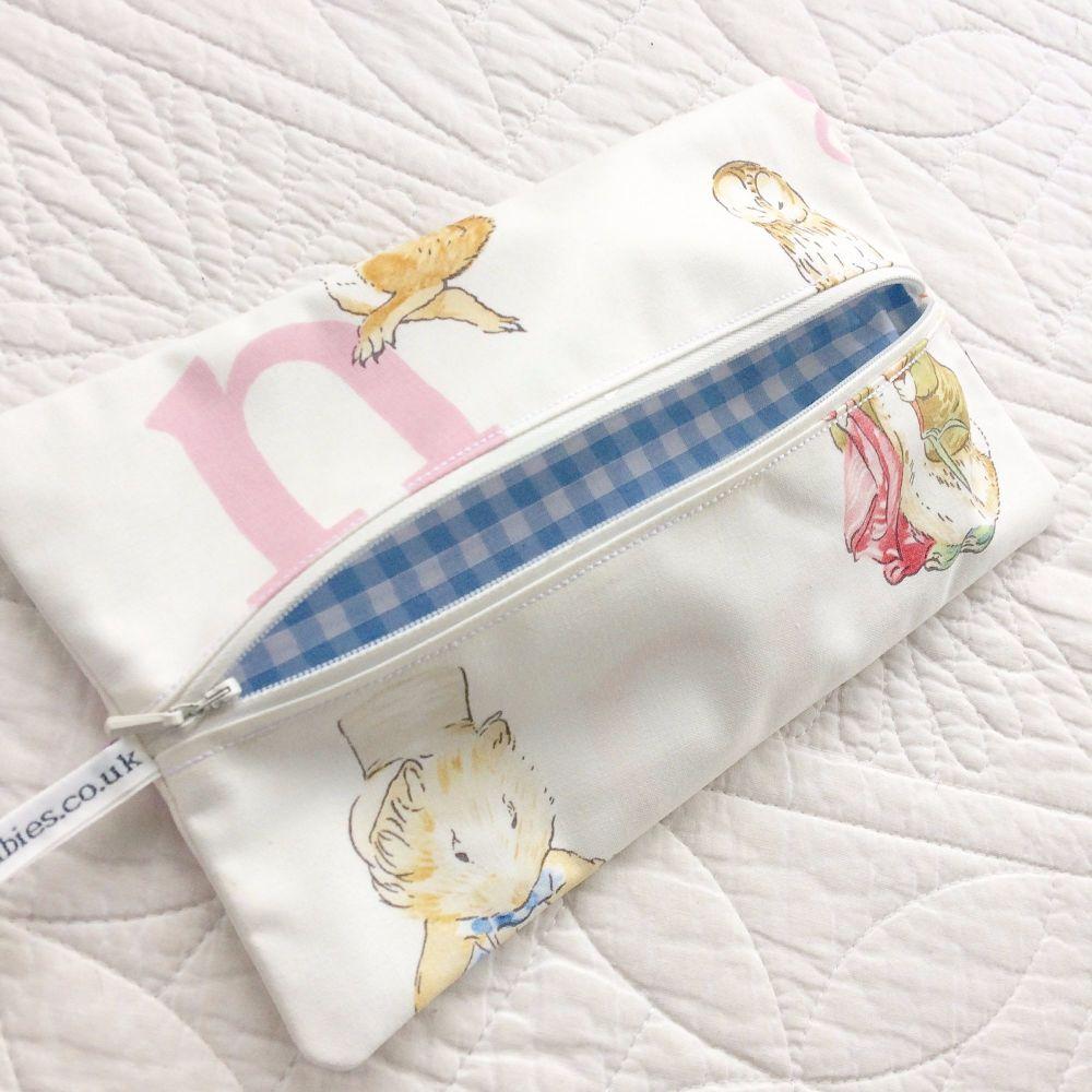 Beatrix Potter Peter Rabbit  wet wipe bag