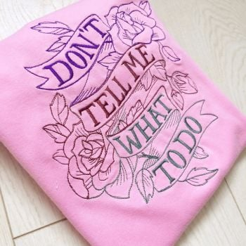 Dont tell me what to do T shirt by Jellibabies