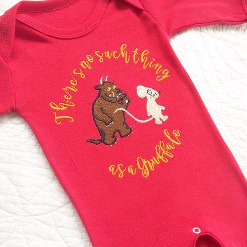 Gruffalo style babygrow sleepsuit