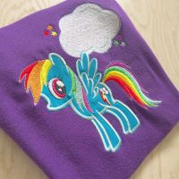 My little pony Rainbow dash T shirt by jellibabies
