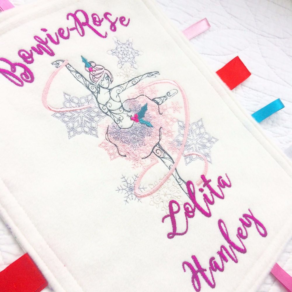 Fairy baby taggy taggie blanket
