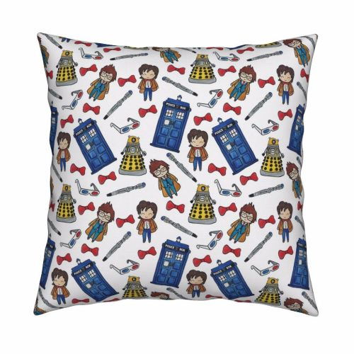 Dr Who cushion
