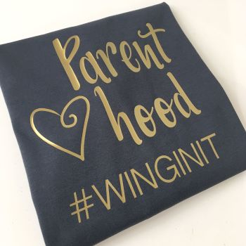 Parenthood #winginit T shirt