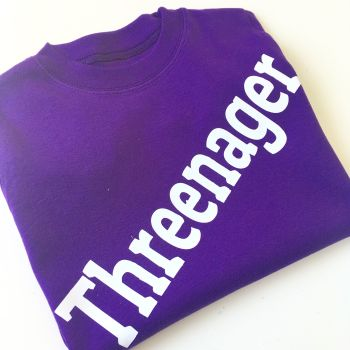 Threenager toddler T shirt