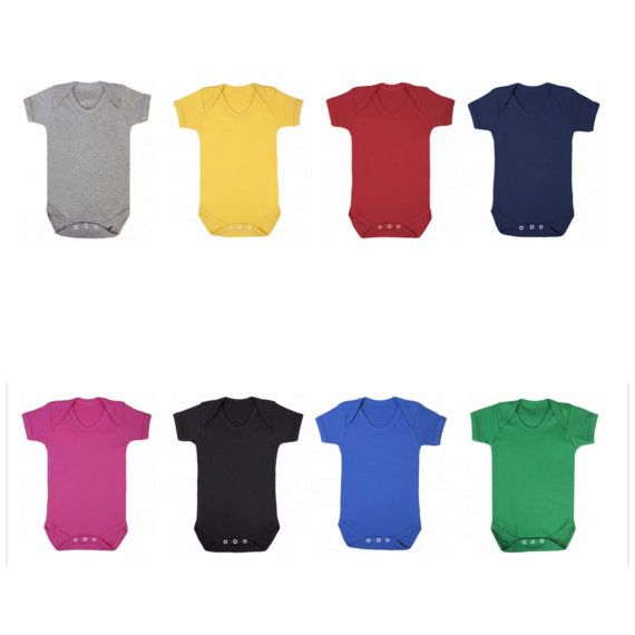 Onesie vest colours 2