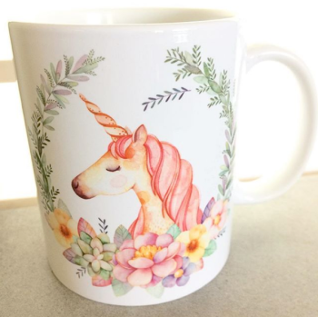 Unicorn lover personalised mug