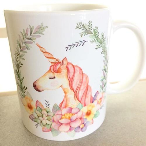 Unicorn lover personalised mug