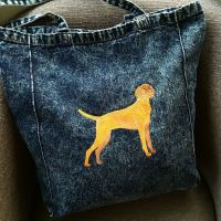 Hungarian Vizsla fundraising embroidered bag by Jellibabies.co.uk