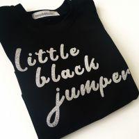 Little black jumper by Jellibabies.co.uk 2