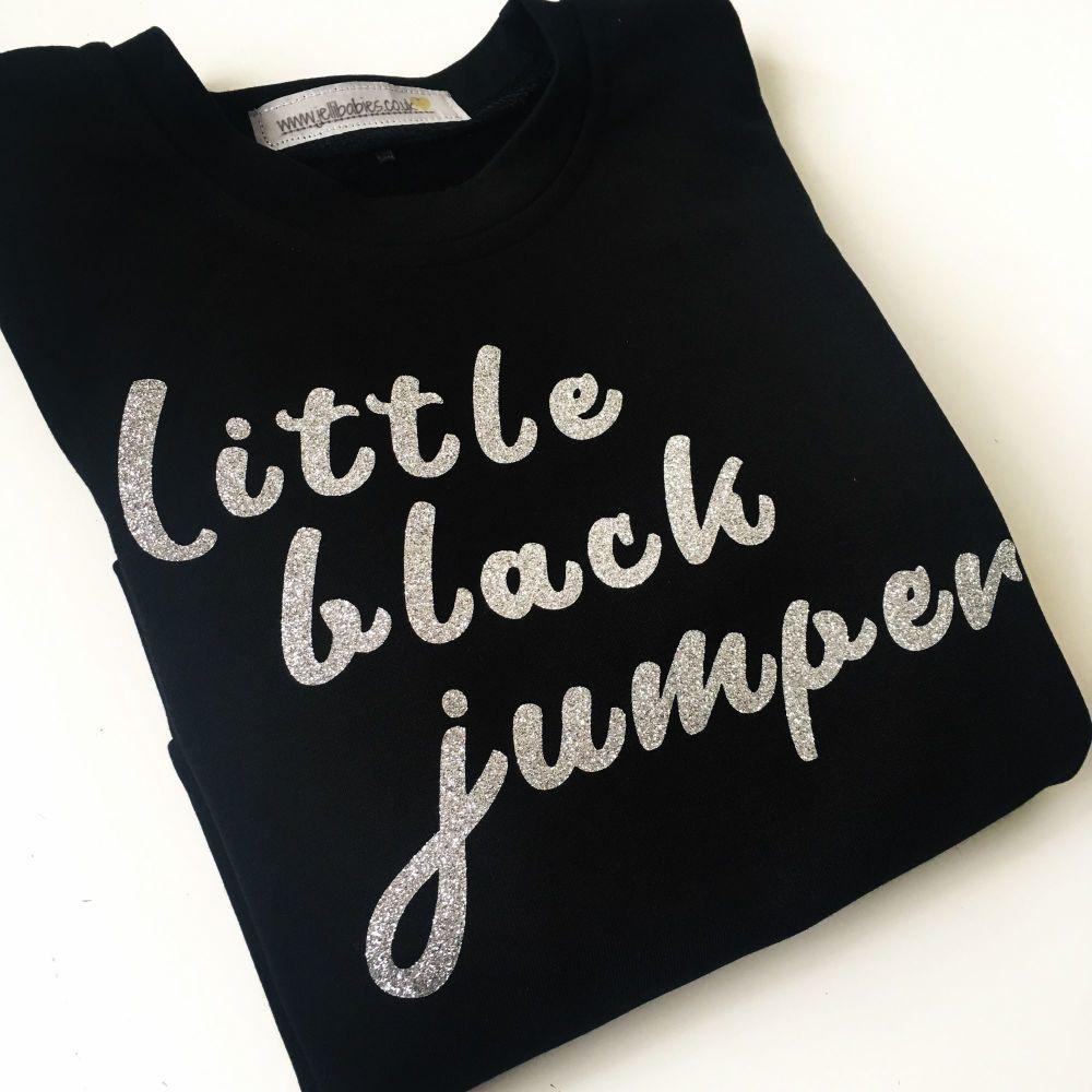 Little black jumper