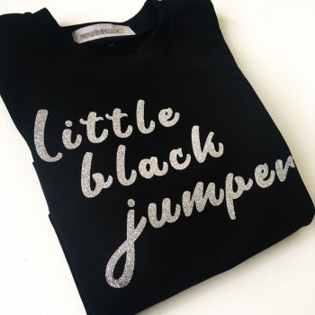 Little black jumper