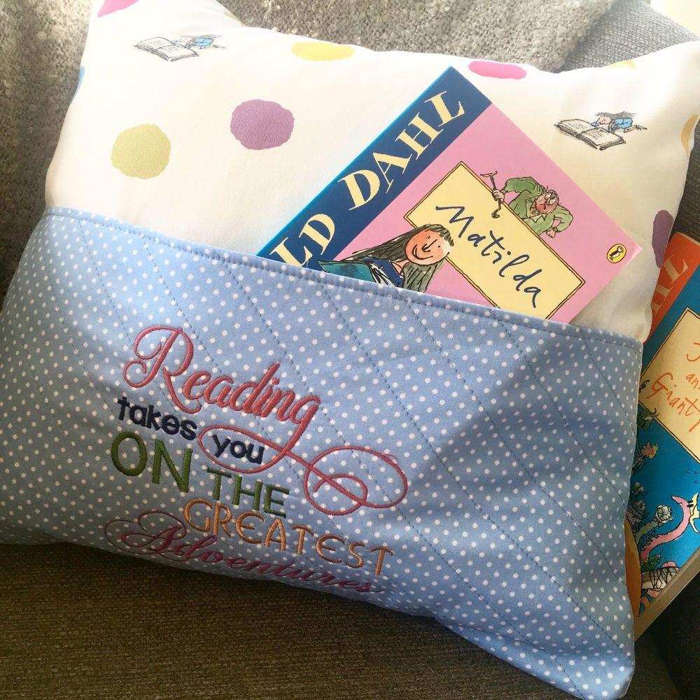 Matilda reading pillow cushion