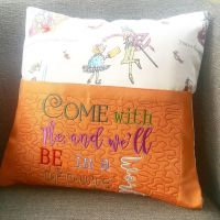 Charlie & The Chocolate factory  reading pillow cushion