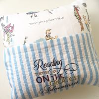 Charlie & The Chocolate factory  reading pillow cushion 2