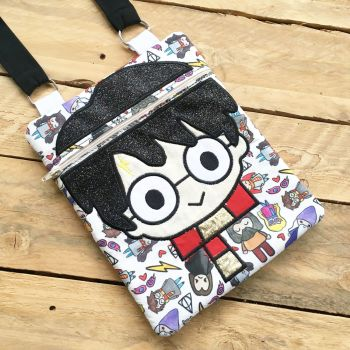 "Wizard boy 5"" x 10"" shoulder bag"