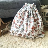 Labyrinth fabric  toy/laundry/book bag/story sack