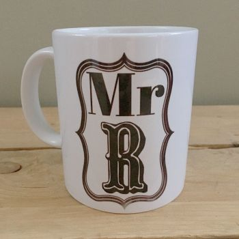 Personalised Mr coffee tea lovers mug