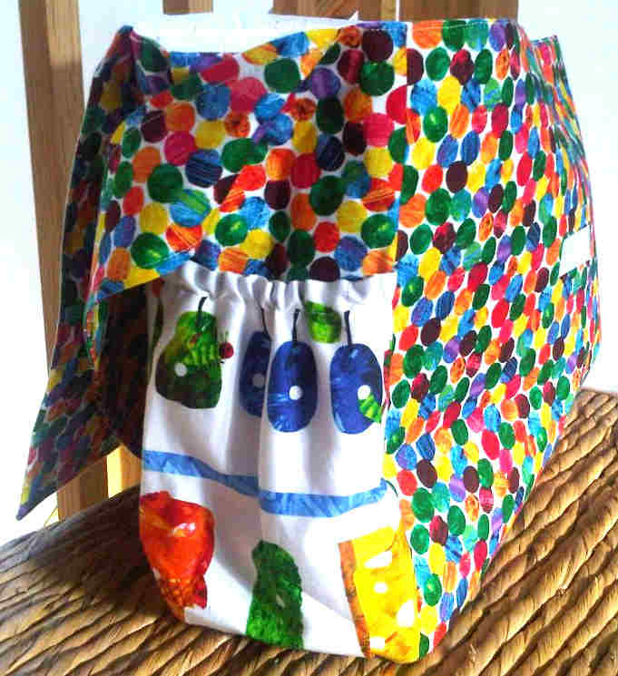 the very hungry caterpillar changing bag
