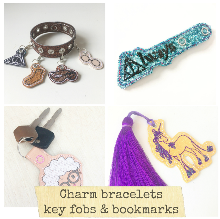 Charm bracelets Key Fobs & Bookmarks