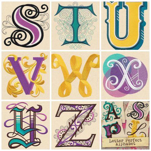 Alphabet Collage 3