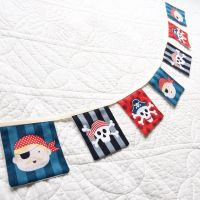 Pirate nautical bunting
