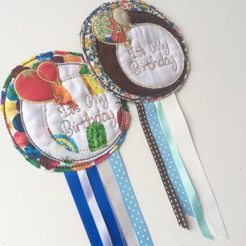 Its my birthday rosette by Jellibabies.co.uk