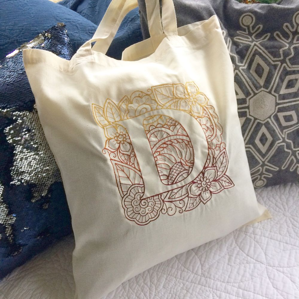 Personalised canvas & Jute tote shoppers & bags
