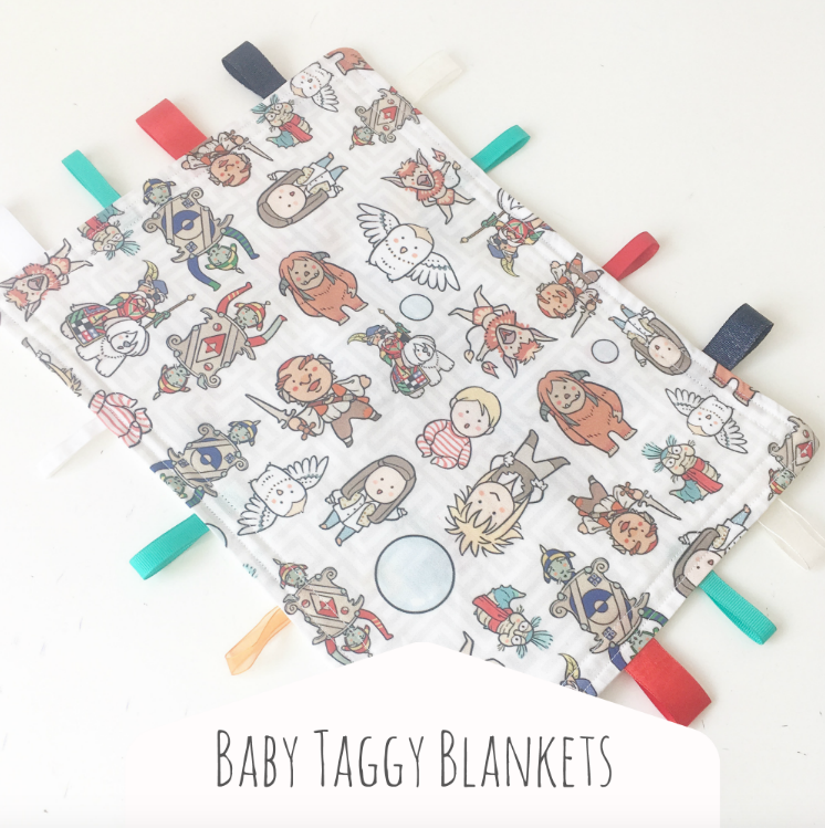 Baby Taggy Blankets
