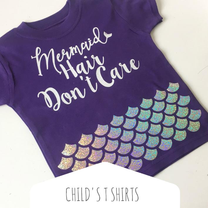Children's T shirts