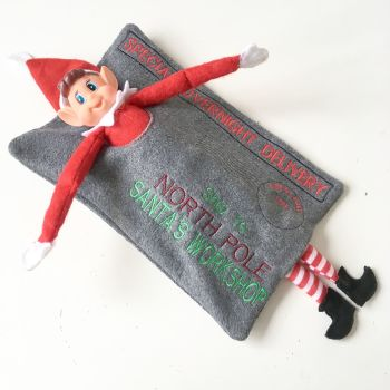 Christmas Personalised Elf on the shelf RETURNS envelope
