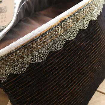 Royal Opera House fabric clutch bag by Spotty dog Handmade formerly Jelliba