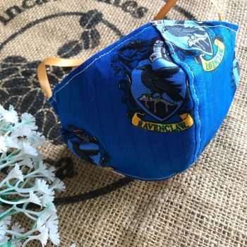 Harry Potter Ravenclaw cotton Face mask with filter pocket