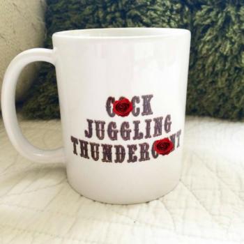 Cock Juggling Thunderc*nt mug