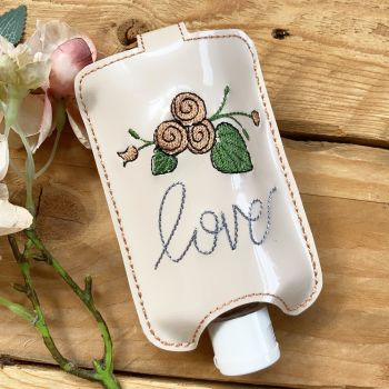 love  hand  sanitiser holder