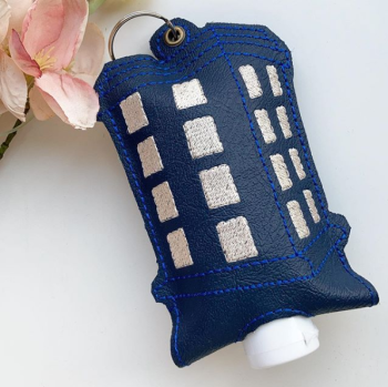 Dr Who Tardis hand  sanitiser holder