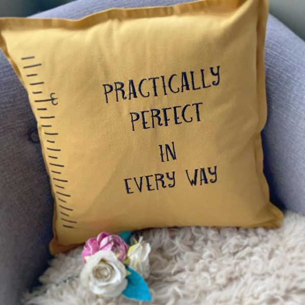 Practically perfect in every way  cushion 16