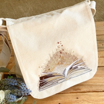 Reading is Magical eco reusable tote shopping bag