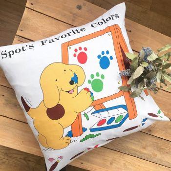"""Spot the dog floor cushion cover  18"""""""