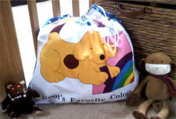 Spot the dog toy laundry book bag story sack