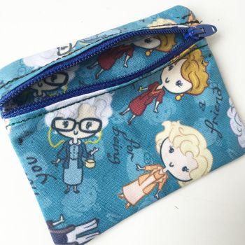 Golden Girls  zip pouch