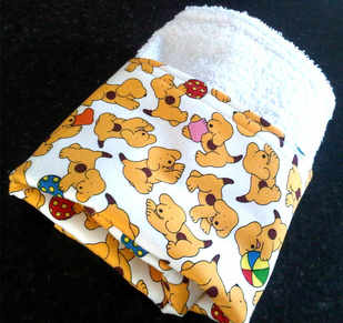 spot the dog burp cloth 2
