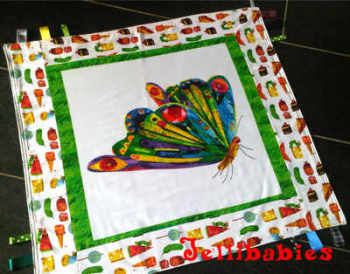 The very hungry caterpillar encore taggy blanket OR rug.2